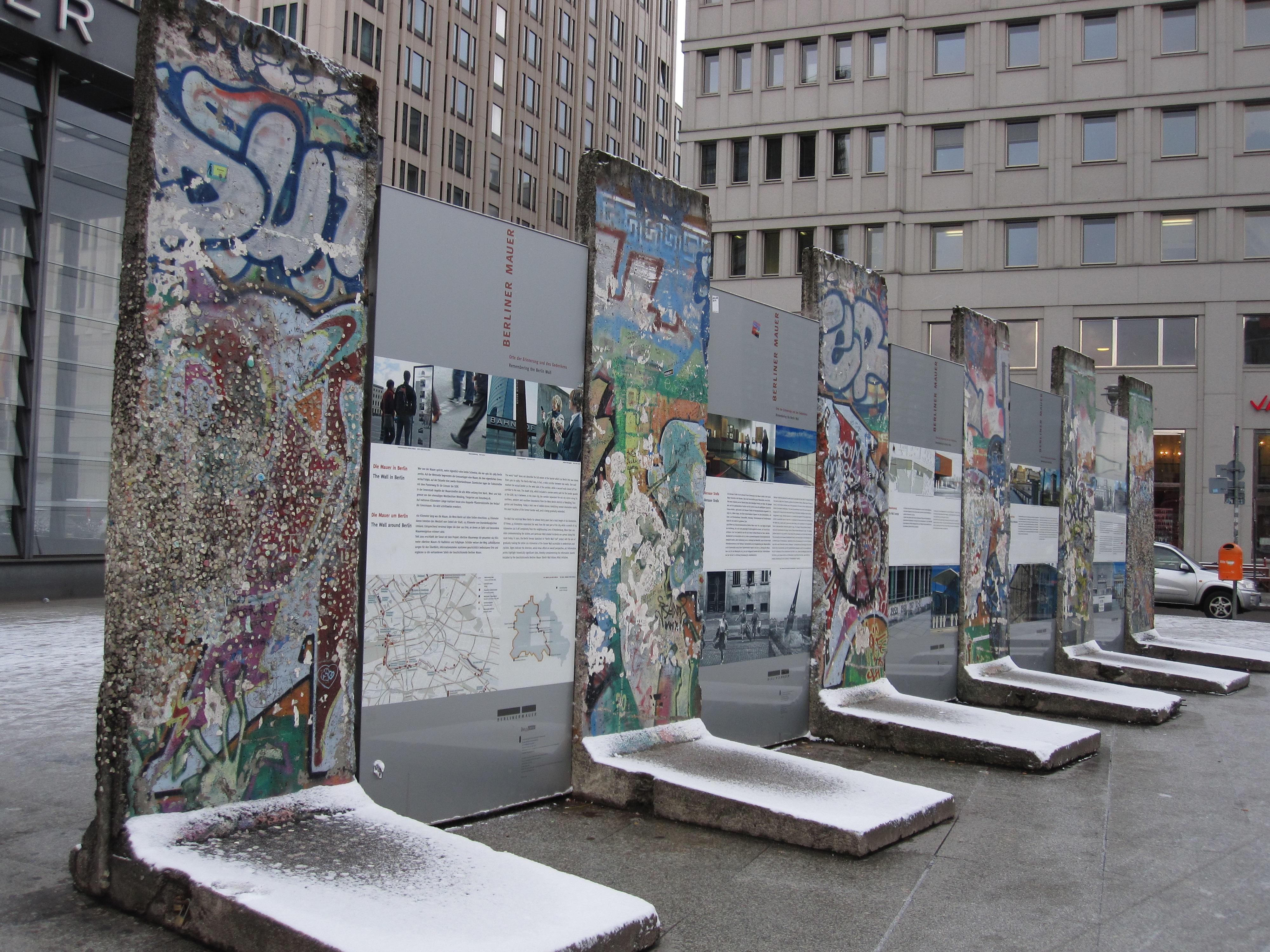 De berlijnse muur reis naar berlijn - Muur van de ingang ...